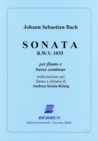 Sonata, BWV1035(Sciola-Konig) available at Guitar Notes.