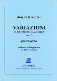 Variazioni, op.7(Rossini) available at Guitar Notes.