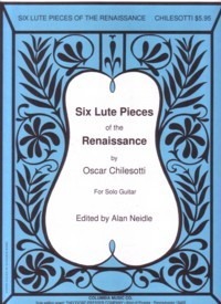 Six Renaissance Lute Pieces(Neidle) available at Guitar Notes.