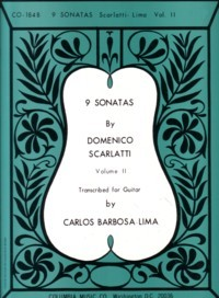 9 Sonatas, Vol.2(Barbosa-Lima) available at Guitar Notes.