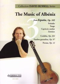 The Music of Albeniz Vol.3 (Russell) available at Guitar Notes.