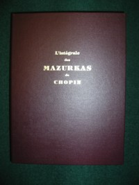 Complete Mazurkas(Chandonnet/Gagnon) available at Guitar Notes.
