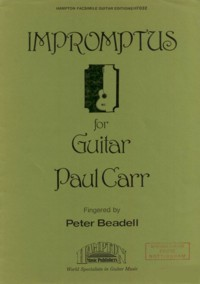 Impromptus(Beadell) available at Guitar Notes.