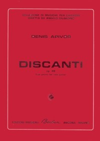 Discanti, op.48  available at Guitar Notes.