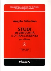 Studi di virtuosita, Vol.1, no.1-12 available at Guitar Notes.