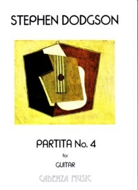 Partita no.4 available at Guitar Notes.