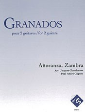 Anoranza; Zambra(Chandonnet/Gagnon) available at Guitar Notes.
