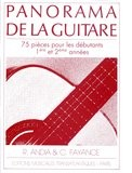 Panorama de la Guitare, Vol.1 available at Guitar Notes.