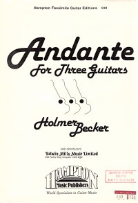 Andante available at Guitar Notes.