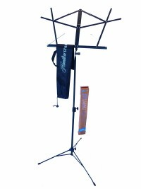 Folding Music Stand available at Guitar Notes.
