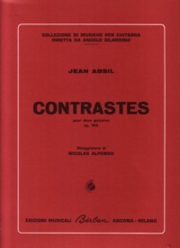 Contrastes, op.143 available at Guitar Notes.