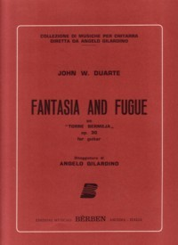 Fantasia & Fugue, op.30 available at Guitar Notes.