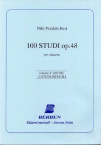 100 Studi, op.48 Vol.4 available at Guitar Notes.