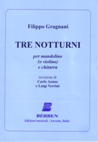 Tre Notturni(Aonzo/Verrini) available at Guitar Notes.