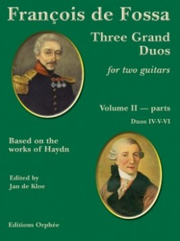 Three Grand Duos after Haydn, Vol.2 available at Guitar Notes.