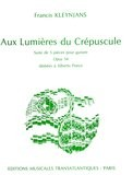 Aux Lumieres de Crepescule, op.54 available at Guitar Notes.