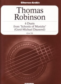 Six Duets(Dausend) available at Guitar Notes.