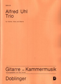 Trio [Vn/Va/Gtr] available at Guitar Notes.