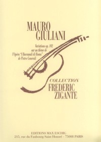 Variations, op.146(Zigante) available at Guitar Notes.