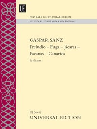 Preludio-Fuga-Canarios (New Karl Scheit Edition) available at Guitar Notes.