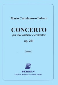 Duo Concerto, op.201 [2Gtr] [orch parts] available at Guitar Notes.