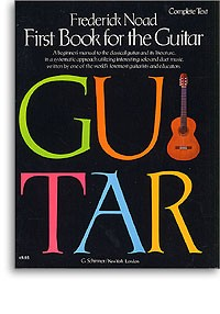 First Book for the Guitar (Complete Text) available at Guitar Notes.