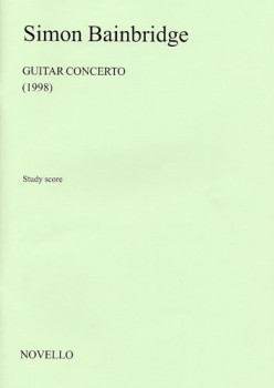 Guitar Concerto [score] available at Guitar Notes.