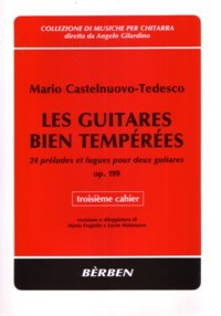 Les Guitares Bien Temperees, op.199: Vol.3 available at Guitar Notes.