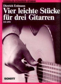 Vier Leichte Stucke available at Guitar Notes.