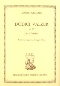 12 Valzer, op.57(Chiesa) available at Guitar Notes.