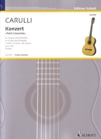 Petit Concerto in e-min, op.140(Riehle) [GPR] available at Guitar Notes.