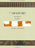 7 Miniatures available at Guitar Notes.