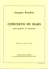 Concerto de Mars available at Guitar Notes.