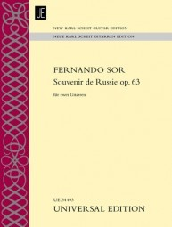 Souvenir de Russie op.63(New Karl Scheit Edition) available at Guitar Notes.