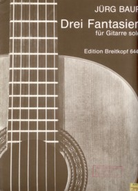Drei Fantasien available at Guitar Notes.