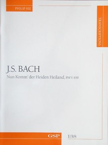Nun Komm' der Heiden Heiland,BWV659(Hii) available at Guitar Notes.