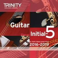 Guitar CD Initial-Grade 5 2016-2019 available at Guitar Notes.