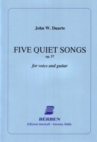 5 Quiet Songs, op.37 available at Guitar Notes.