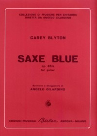 Saxe Blue, op.65b available at Guitar Notes.