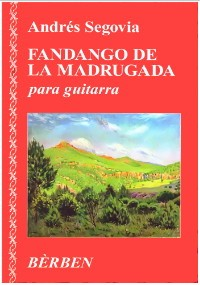 Fandango de la madrugada available at Guitar Notes.