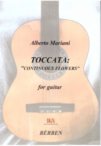 Toccata: Continuous Flowers available at Guitar Notes.