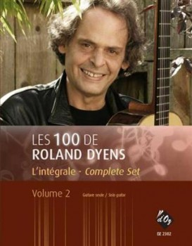 Les 100 de Roland Dyens Vol.2 available at Guitar Notes.