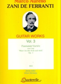 Guitar Works, Vol.3: Fantaisie Variee, op.1 available at Guitar Notes.