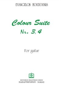Colour Suites no. 3 & 4 available at Guitar Notes.