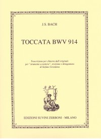 Toccata, BWV914(Grondona) available at Guitar Notes.