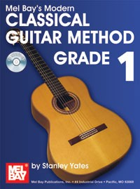 Modern Classical Guitar Method, Grade 1 available at Guitar Notes.