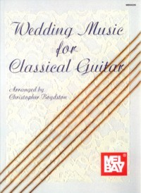 Wedding Music for Classical Guitar available at Guitar Notes.