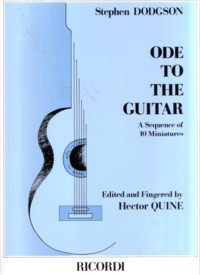 Ode to the Guitar available at Guitar Notes.