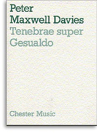 Tenebrae super Gesualdo [score] available at Guitar Notes.