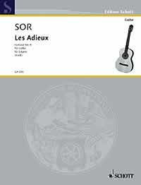 Les Adieux, Fantaisie no.6, op.21(Koch) available at Guitar Notes.